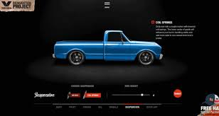 game design your own car build your own 500hp chevy truck with valvoline