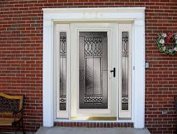 back door glass attractive front door with storm door provia heritage fiberglass