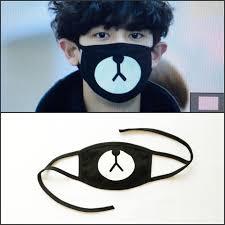 Masker Exo ready stock masker chanyeol exo harga rp 15 000 deskripsi produk