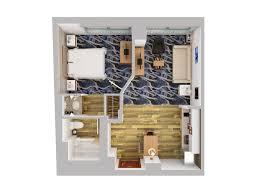 suites 3d floor plans
