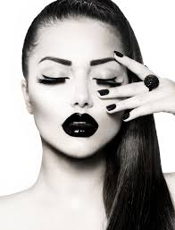 Black And White Halloween Makeup Ideas Gracious And Passionate Fashion Photography High Fashion