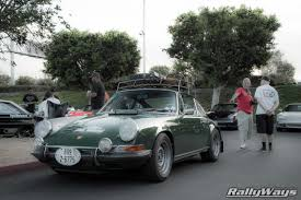 vintage surf car porsche 911 roof racks debacle rallyways