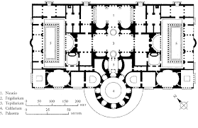 basilica floor plan layout of the baths of caracalla roma thermae romanae