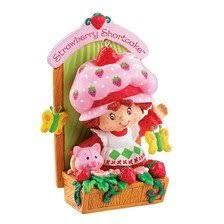 strawberry shortcake ornament heirloom 2007 home