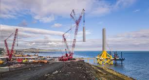 mammoet offshore wind