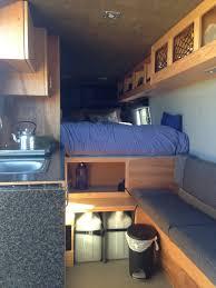 Ceiling Bed Sprinter Van Buildout Van Living 4 Steph Davis High Places