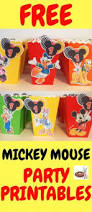 mickey mouse inspired party favour box free