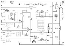burglar alarm control keypad 10 december 2011 circuits