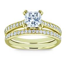 square rings jewelry images Wedding ring sets diamond bridal jewelry bridal sets jewelry jpg