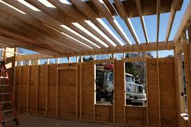 Second Floor Joists Design Construction Of Spartan Hannah S Home House Floor Joists Construction