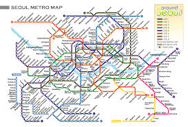 My Subway Map by The Night I Lost My First Phone In Korea The Wonderglover
