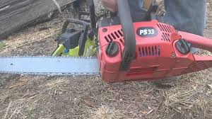 homelite ps33 chainsaw for sale on ebay youtube