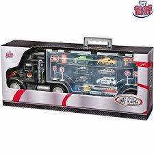 camion porta auto camion porta auto bisarca giocattolo con 6 auto 1 tir e accessori