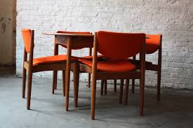 red leather dining chairs for dining room design
