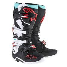 motocross boot repair alpinestars tech 7 motocross boots black turquoise white