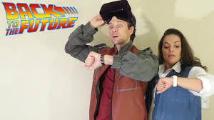 back to the future halloween costumes marty and the oculus youtube