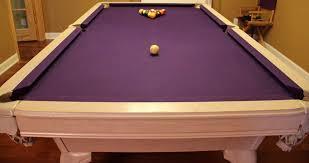 non slate pool table large purple non slate pool table non slate pool tables