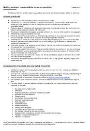 Resume Reference Samples by Writing A Student Letter Of Recommendation Http Resumesdesign