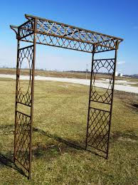 Ideas For Metal Garden Trellis Design Exterior Delightful Patio Pavers With Metal Trellis For Patio