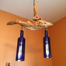wine bottle home decor new driftwood chandelier 71 for your home decor ideas with