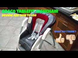 Graco Duodiner Lx High Chair Botany Graco Tablefit Highchair Review Youtube
