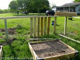 raised garden beds against fence raised bed against fence gardens