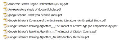 Your first PDFs for writing a PhD thesis