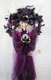 Halloween Wreathes 224 Best Wreaths Halloween Wreaths And Door Decor Images On