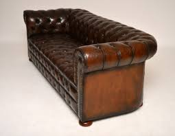 Leather Chesterfield Sofa by Antique Gorgeous Deep Buttoned Leather Chesterfield Sofa Drupal