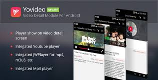 jwplayer android yovideo instant player module for android inspius store
