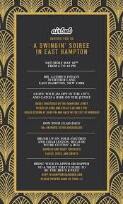 Gatsby Invitations 17 Best Images About Invitation Templates On Pinterest Gatsby