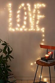 how to decorate with copper wire lights popsugar home