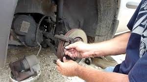 brake pad replacement on a 2002 chrysler voyager youtube