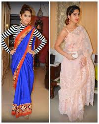 Drape A Sari Wear A Saree Contemporary Style U2013 Thestylechair