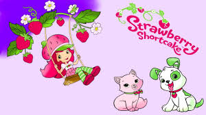 strawberry shortcake for kids coloring pages youtube