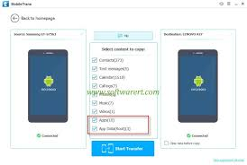 how to transfer apps from android to android transfer app and data from android to android