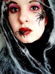 Black Eye Makeup For Halloween Spider Halloween Makeup Tutorial Youtube