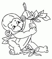 monkey coloring pages u003c3 coloring pages girls
