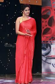 keerthy suresh in transparent saree stills pics
