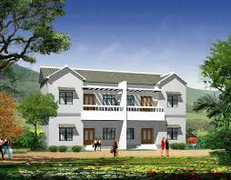 practical semi detached two story house design interior design