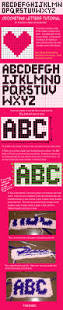 hama bead letter templates 304 best sprites and perler beads images on pinterest bead crochet letters tutorial