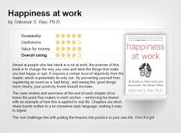 we review two books on being happy at work michael page
