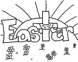 coloring pages easter egg hunt page free printable for kids