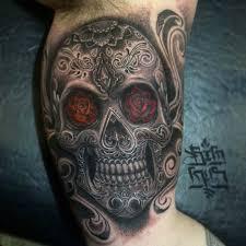 skull tattoos gothic life