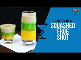 squashed frog shot u2013 how to make a squashed frog cocktail recipe