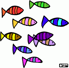 10 colorful fish clipart 28376 clipartion