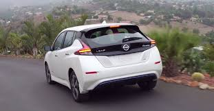 nissan leaf boot space 2018 nissan leaf images plus b roll exterior and interior videos