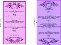 Wedding Reception Programs Getting Married 21d The Reception Programme U2013 Dinner U0026 Wedding