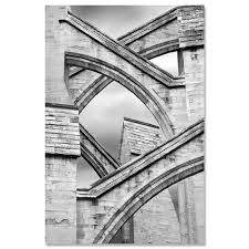 flying buttress architecture art print flying buttress jeff friesen award