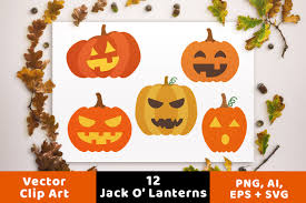 12 jack o u0027 lanterns clipart pumpkin svg halloween clipart